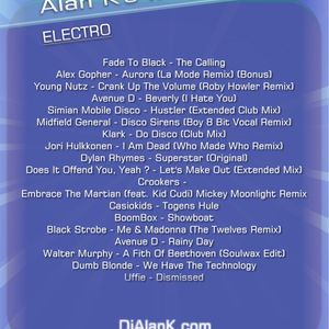 Special darling party Electro May 2011 Mix