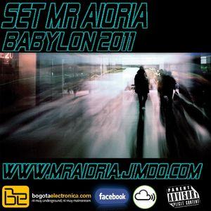 Set Mr Aioria - Babylon 2011