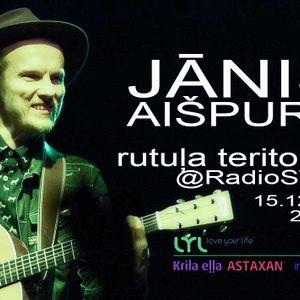 Rutula teritorija @RadioSWH 151215 Janis Aispurs
