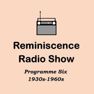 Show 6: Full programme, 1930s-1960s