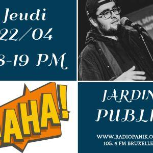 Sacha FERRA @ Jardin Publik
