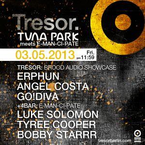 GO!DIVA (Live PA) @ Brood Audio Night - Tresor Berlin - 03.05.2013