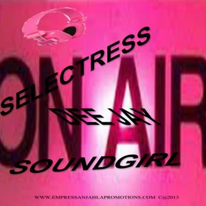 DJ EMPRESS ANJAHLA   LIVE ON AIR RADIO SHOW MIX OF  ROOTS AND CULTURE DUB