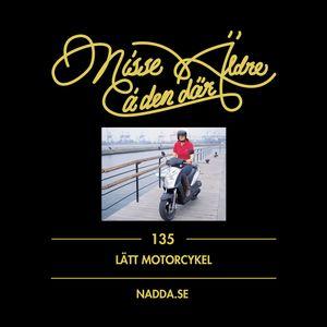 135 Lätt motorcykel