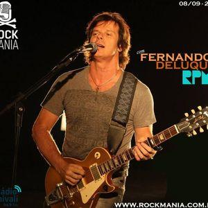 Rock Mania #388 - com Fernando Deluqui, do RPM - 08/09/19