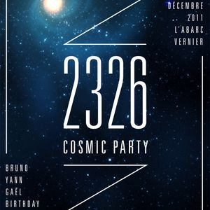 Cosmic Party Mix - 17.12.11 - by GK