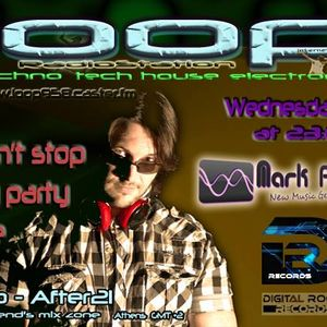 Mark Feesh At Loop Radiostation ( Don't stop my party live ) DRR WEDNESDAYS