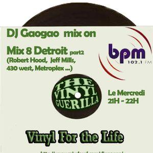 DJ Gaogao on BPM Mix (mix 8) Detroit part2 fin saison 11-12 only Vinyl
