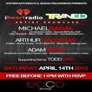 Arthur Galestian - Live at Ecco Ultra Lounge. Hollywood, CA - April 14, 2012