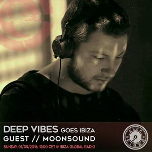 Deep Vibes - Guest MoonSound - 01.05.2016
