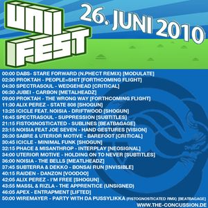 Unifest Karlsruhe Promo Mix