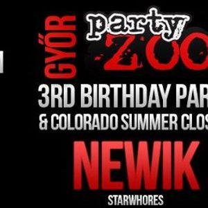 2012.08.25 danceland dj™ & newik live @ colorado dunaszeg