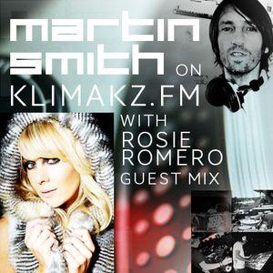 Martin Smith's New House Music Show No.92 on KlimakzFM with Rosie Romero
