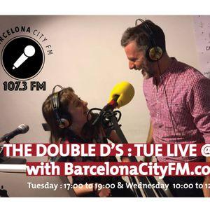 Double D show with Sue Flack, LiveatFive 3rd May 16- BarcelonacityFM