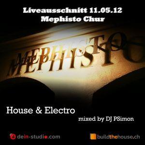 Liveausschnitt Mephisto Chur 11.05.12 House/Electro
