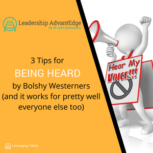 LA 035: 3 Tips for Being Heard