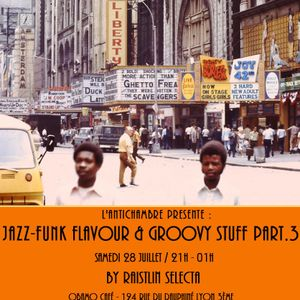 Jazz-Funk Flavour & Groovy Stuff preview (BYN Radioshow 30 mars 2012)