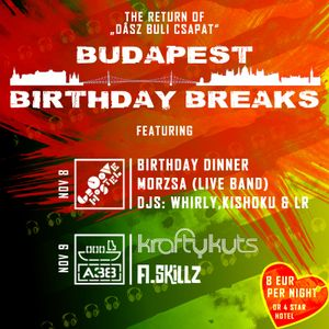 Budapest Birthday Breaks: Whirly Plays Breaks