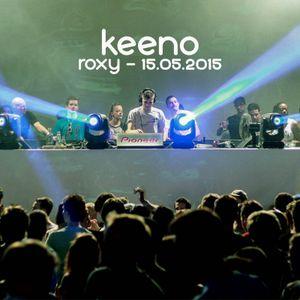 Keeno live @ Roxy, Prague (CZ) - 15.05.2015