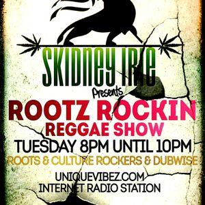ROOTS ROCKIN VIBEZ RADIO SHOW 17TH JAN 2017
