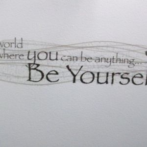 Human-Be yourself