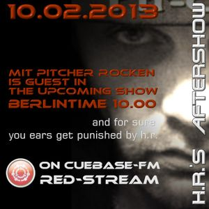 mit pitcher rocken...set for h.r.'s aftershow 10.02.2013
