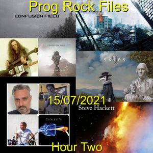 Prog Rock Files 15/07/2021 Hour Two