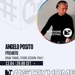 ANGELO POSITO - Drum Tunnel Studio Session on Dance Television (13.04.2020)