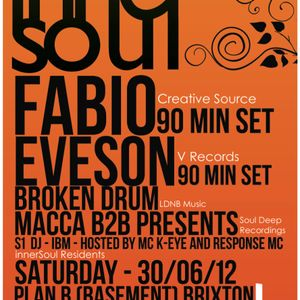 Broken Drum Live @ innerSoul 30/06/12