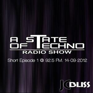 A State Of Techno @ 92.5 FM 14-09-2012