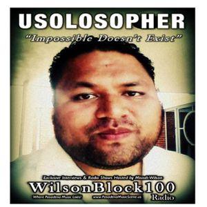 Usolosopher Exclusive Interview on WilsonBlock100 Radio