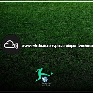 #PasionDeportiva 02-10-17 - Pablo Villalba Fretes - Chaco For Ever