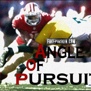 FakePigskin.com Angle of Pursuit - Hang that Banner!