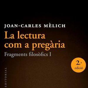 """npsm629: """"Tot el que pot fer-se amb rapidesa no m'interessa"""", Joan-Carles Mèlich."""