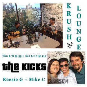 KRUSH LOUNGE: The Kicks in studio