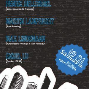 Martin Lamprecht (ZartBooking) Bunker 12.01.2013