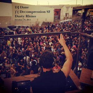 DJ Dane at Burning Man Decompression 2013