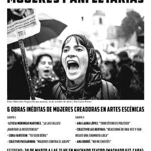 Entrevista, 2do Ciclo de Teatro panfletario: Mujeres Panfletarias en el Teatro Machado (20-03-17)