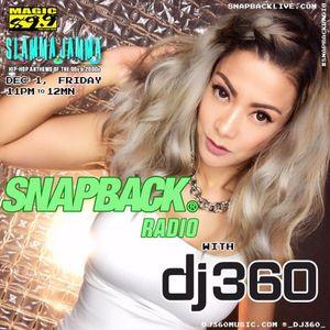 DJ360- Magic 89.9 FM Manila Snapback Radio