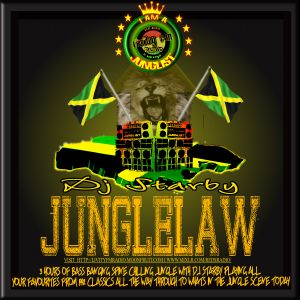 JUNGLE LAW with Dj Starby 170814