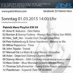Patrick Hero`s I LOVE CLUBMUSIC RadioShow on BNRadio KW 09_15