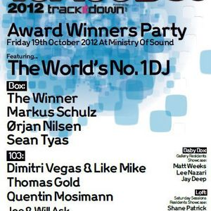 Markus Schulz - Live @ Top 100 Djs Awards Party, London - 19.10.2012