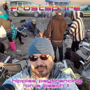 Hippies Psytrancing On A Beach 2 2016 Long Beach Washington.