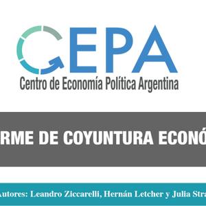 27 - 04 - ST Hernan Lechter CEPA Informe economico del gobierno Cambiemos