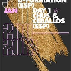 Chus & Ceballos - Live @ Day 1, Stereo Club, Montreal, Canadá (01.01.2012)