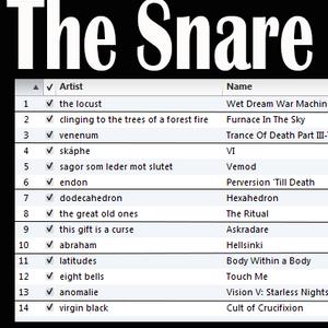 The Snare: Black/Doom/Sludge/Whatever 2017-07-28