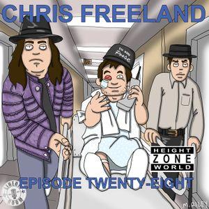 Episode 28 - Chris Freeland (I Know How Hot The Dream Burns)