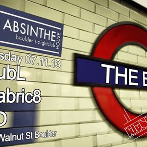 Underground in The Box at Absinthe House Techno