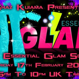 The February Glam Rock Show - 34 Essential Glam Songs - 17th February 2017