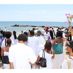 Remembering our Ancestors of the Middle Passage at Buckroe Beach -Chadra Pittman